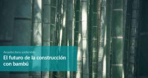 formación edificación con bambú