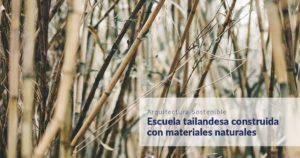 cursos materiales sostenibles de construcción