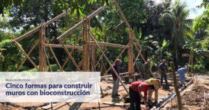 Curso muro de bioconstrucción