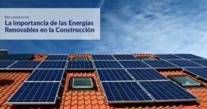 Curso Energias renovables construcción
